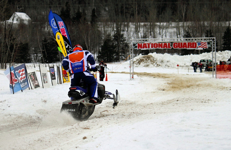 Roger Paradis of Glenburn, Maine heads towards a second place finish in the Expert 85 Improved class.