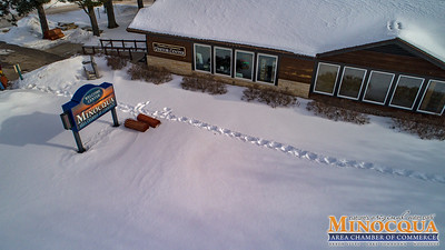 MINOCQUA CHAMBER - SNOWMY KROMER BUILD DAY 1