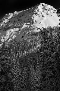 Kendall Peak Grayscale