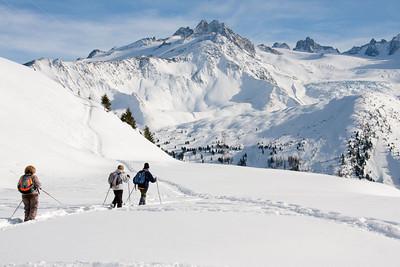 Snowshoes, Raquettes