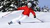 Tracy skiing 2009