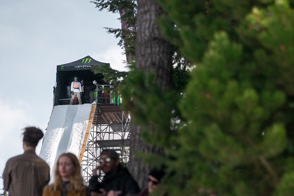 The Snowboard Big Air Competition from the World Ski and Snowboard Festival