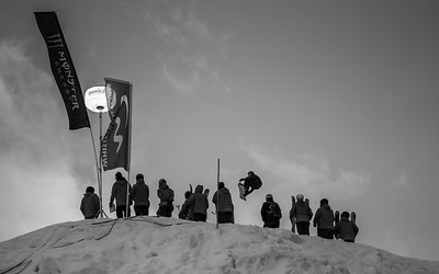 The World Ski and Snowboard Festival (WSSF) Snowboard Big Air Competition