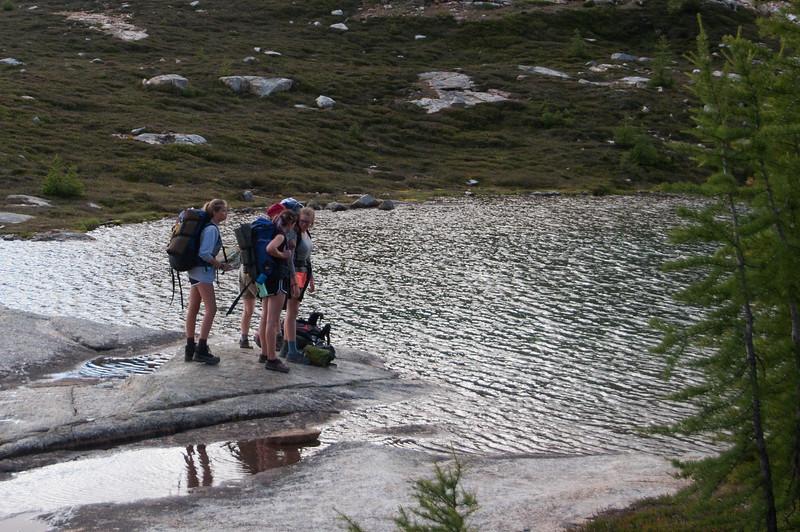 Lower Snowy Lake. Joel C said make sure to go to Upper.