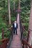 Tree top walk, Capilano Suspension Bridge Park, Vancouver, BC