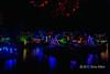 Coloured lights 2, Japanese Gardens, Mayne Island, BC