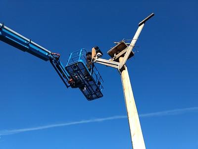 Osprey cam work, Charlo, MT