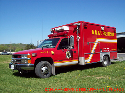 DAUNTLESS HOOK & LADDER CO. X-UTILITY 8-4 1997 CHEVY/SWAB SQUAD