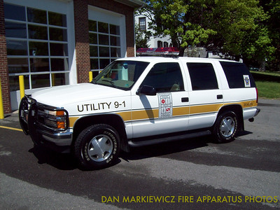 SHAMOKIN DAM FIRE DEPT. UTILITY 9-1 1997 CHEVY PERSONNEL CARRIER