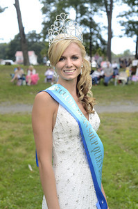 Kristijana Seler, 20, of Beavertown, was named the 2012 McClure Bean Soup Queen, on Sunday at the Bean Soup Festival.
