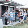 Robert Inglis/The Daily Item  Crowds get some food at the Mifflinburg Hose Company carnival Friday evening in Mifflinburg.
