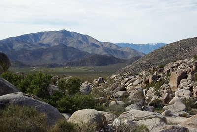 View along the Pictograph Hiking Trail.
