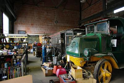 Restoring an old Mack truck.