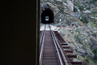 The US / Mexico border is about 1/2 way through that tunnel.
