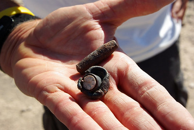 More projectiles found on the ground in Military Wash.