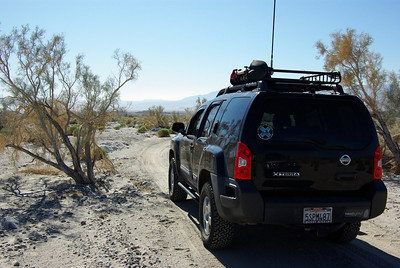 We started off traveling south through Ella Wash from S-22, near Arroyo Salado campground.