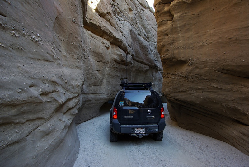 In Sandstone Canyon.