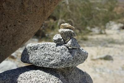 Marty's rock art.