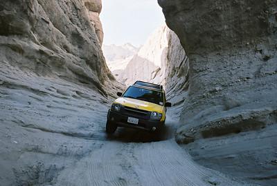 Sandstone Canyon - Anza Borrego - March 2006