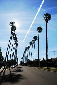 Tremont Street in Oceanside. California.