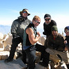 Summit shot.<br /> Myself and Kevin in the back, Neal, Angelo and Mike  in the front