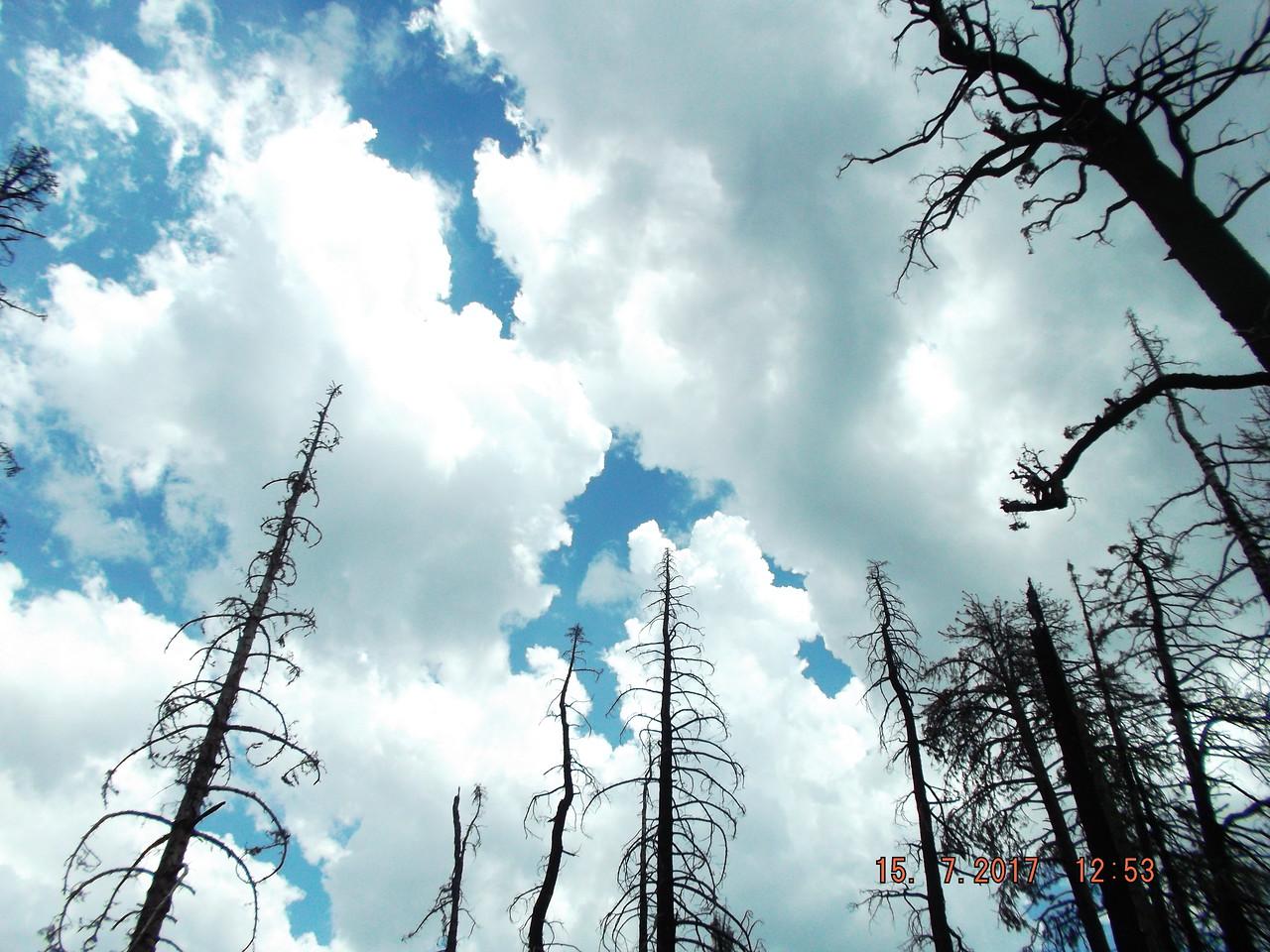 Broken Clouds Helped With Heat (by John Flippin)