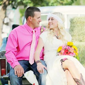 Zeb & Aimee | wedding & reception