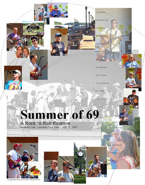 Summer of 69 July 10 11x14 800h