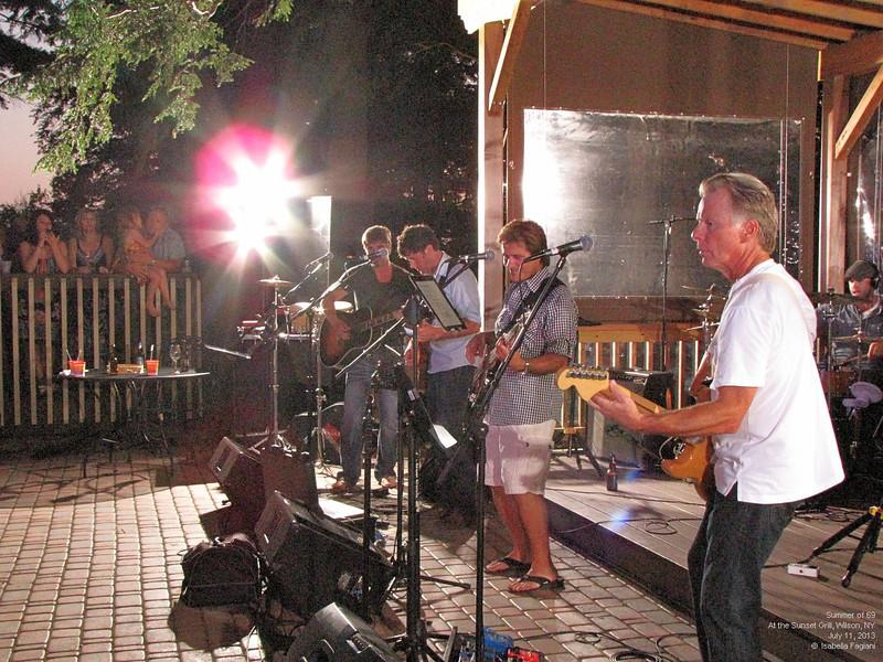 Sunset Gary Baker Band 2 2013