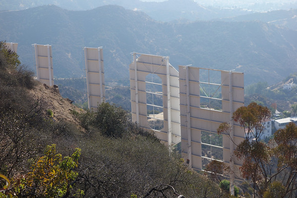Cahuenga Peak (1,821) / Hollywood Sign - Nov 3, 2013