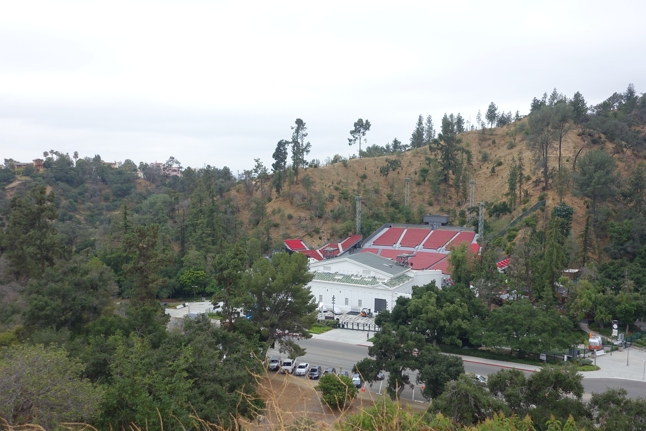 A different view of the Greek Theater