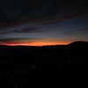 I was in awe over the duration of the orange and red sky; much longer than what I experience in the Sierra.