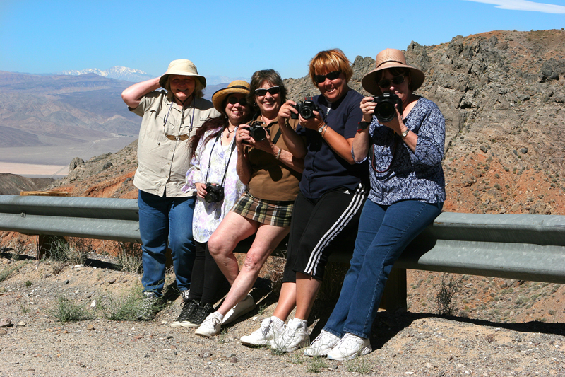 The SoCal Photo Chicks!<br /> Susan Campbell, Jill, Marilyn Lincecum, Linda Ruiz, Terry Ellis<br /> photo by S.CAmpbell