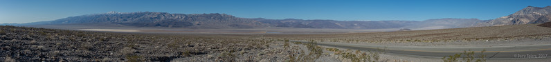Looking Down into Panamint Valley