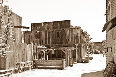 Melody Ranch    ......The front of the back lot...  Hot and dusty just like old times...