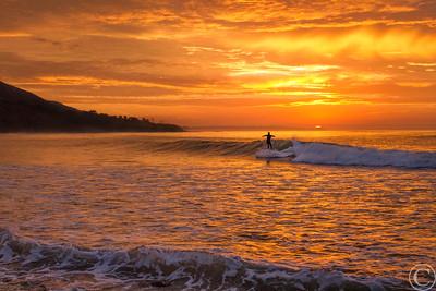 Sunrise Over Point Dume