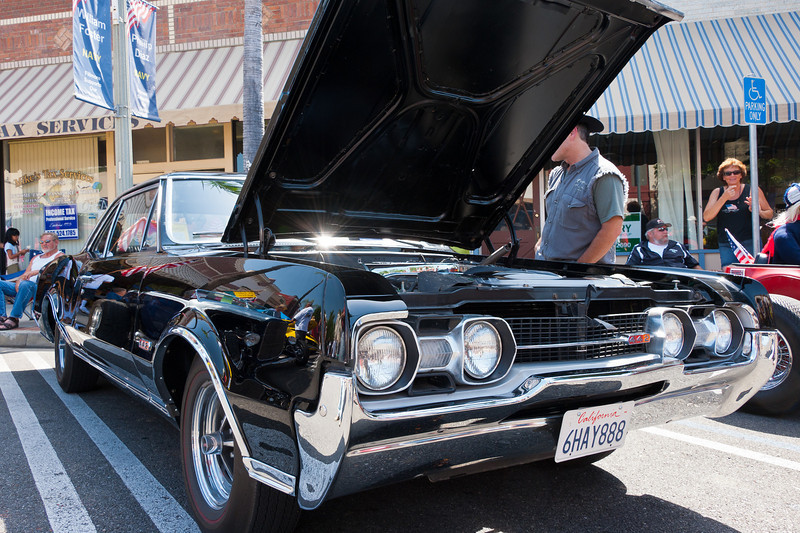Olds 442 Fillmore Car Show 4th of July