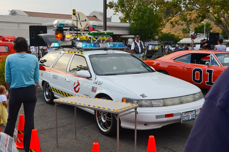 Ghost Busters anyone???  Rt. 66 Car Show Santa Clarita, CA  9/10/11