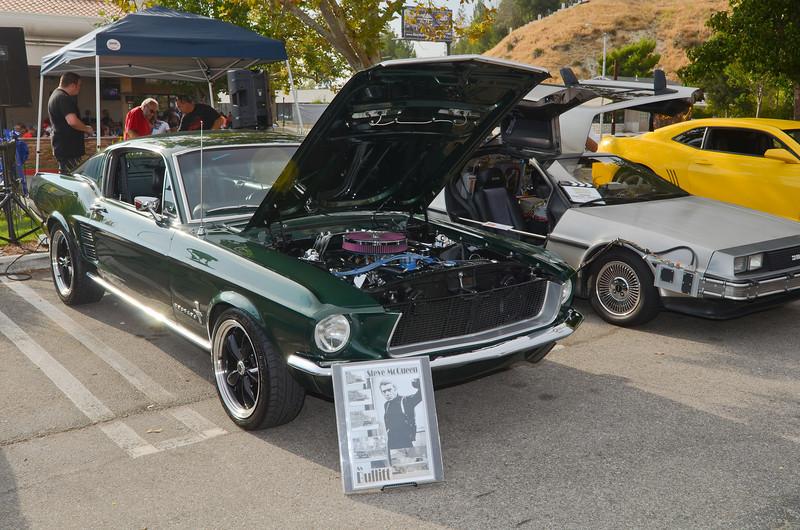 Steve McQueen - Bullitt Mustang.