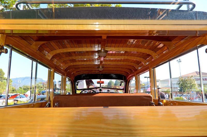 Rt. 66 Car Show Santa Clarita, CA  8/13/11.... The interior of the NYFD Dodge Power Wagon fire truck.