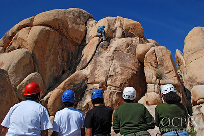 Joshua Tree National Park rock climbing