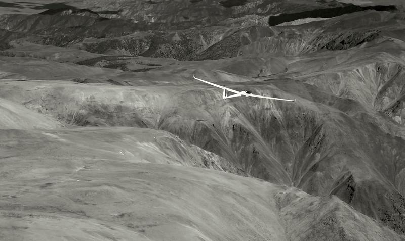 Gliding over the White Mountains