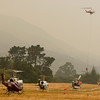 Helicopter Base at Carmel Valley Airport