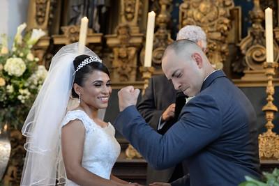 Miguelito y Sandra