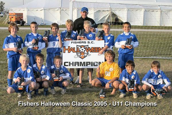 Fishers Halloween Classic 2005