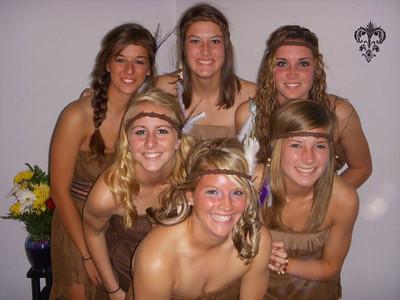 Kaitlin, Kayla, Paige, Jenny, Sara & Rachel
