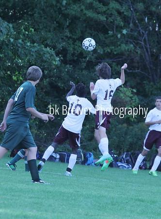 HCHS Freshman soccer vs FHC 9.24.14
