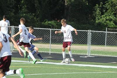 HCHS jv soccer vs Hudsonville