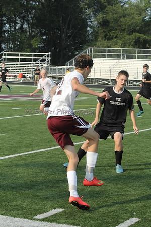 HCHS jv soccer vs TK