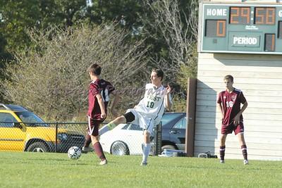 HCHS jv soccer vs Zeeland West